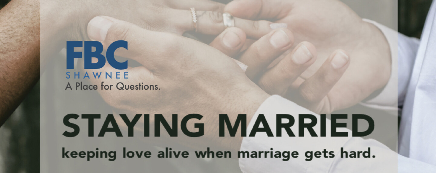 Staying Married Course